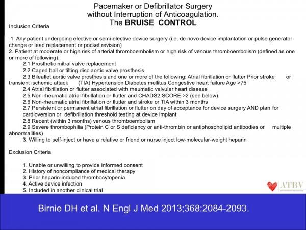 18. II pazienti inclusi nello studio erano pazienti con rischio cardioembolico medio-elevato (≥ 5% annuo).