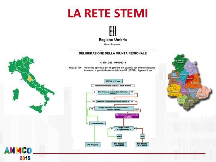 7. … ha portato alla realizzazione di altri due centri Hub nella nostra regione nonché all'adozione di un protocollo operativo regionale condiviso per la gestione dei pazienti con STEMI.