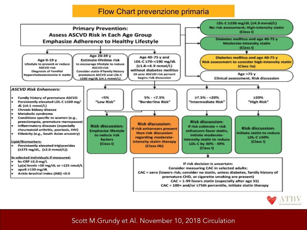 Gestione del colesterolo e rischio cardiovascolare: le..